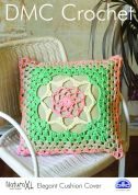 DMC Elegant Cushion Cover Natura Crochet Pattern  Super Chunky