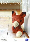 DMC Fox Toy Amigurumi Natura Crochet Pattern  Super Chunky