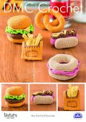 DMC New York Food Favourites Toys Amigurumi Natura Crochet Pattern  4 Ply