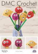 DMC Fruit Pen Toppers Amigurumi Natura Crochet Pattern  4 Ply