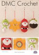 DMC Festive Christmas Tree Decorations Petra Crochet Pattern