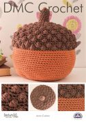 DMC Acorn Cushion Natura Crochet Pattern  Super Chunky