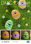 DMC Decorative Eggs Amigurumi Natura Crochet Pattern  Aran
