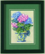 Jiffy Crewel Embroidery Kit Colourful Hydrangea