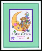 Jiffy Counted Cross Stitch Kit A Star is Born