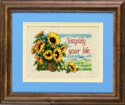 Jiffy Counted Cross Stitch Kit Simplify Your Life