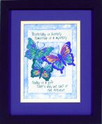 Jiffy Stamped Cross Stitch Kit Today is a Gift