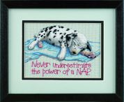 Jiffy Counted Cross Stitch Kit Power Nap