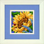 Jiffy Needlepoint Kit Sunflower & Ladybug