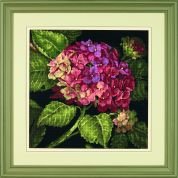Jiffy Needlepoint Kit Hydrangea Bloom
