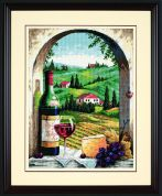 Jiffy Needlepoint Kit Tuscan View