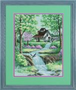 Dimensions Counted Cross Stitch Kit Peaceful Stream