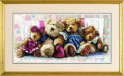 Dimensions Counted Cross Stitch Kit A Row of Love
