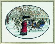 Dimensions Counted Cross Stitch Kit Winter Impressions