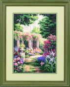 Dimensions Counted Cross Stitch Kit Floral Retreat