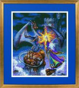 Dimensions Counted Cross Stitch Kit Magnificent Wizard
