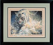 Dimensions Counted Cross Stitch Kit White Lightning