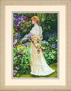 Dimensions Counted Cross Stitch Kit In Her Garden
