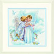 Dimensions Counted Cross Stitch Kit Angel Kisses