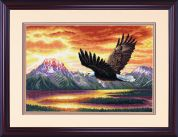 Dimensions Counted Cross Stitch Kit Silent Flight