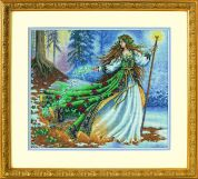 Dimensions Counted Cross Stitch Kit Woodland Enchantress