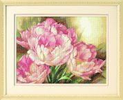 Dimensions Counted Cross Stitch Kit Tulip Trio