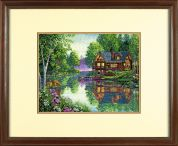Dimensions Counted Cross Stitch Kit Cabin Fever
