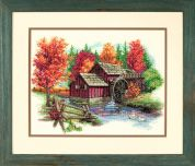 Dimensions Counted Cross Stitch Kit Glory of Autumn