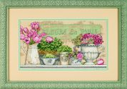 Dimensions Counted Cross Stitch Kit Flowers Of Paris