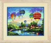 Dimensions Counted Cross Stitch Kit Balloon Glow