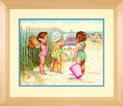 Dimensions Counted Cross Stitch Kit Beach Babies