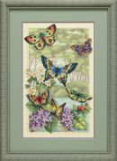 Dimensions Counted Cross Stitch Kit Butterfly Forest