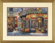 Dimensions Counted Cross Stitch Kit European Bistro