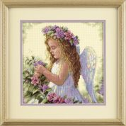 Dimensions Counted Cross Stitch Kit Passion Flower Angel