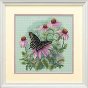Dimensions Counted Cross Stitch Kit Butterfly & Daisies