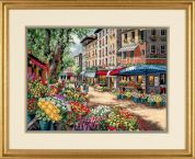 Dimensions Counted Cross Stitch Kit Paris Market