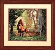 Dimensions Counted Cross Stitch Kit Mare & Foal