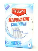 Dylon Renovator Curtains Whitens, Revives & Freshens White Curtains