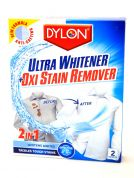 Dylon 2 in 1 Ultra Whitener & Oxi Stain Remover