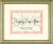 Dimensions Counted Cross Stitch Kit Happily Ever After Wedding Record