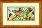 Dimensions Petite Counted Cross Stitch Kit Butterfly Vignette
