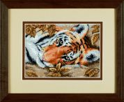 Dimensions Petite Counted Cross Stitch Kit Beguiling Tiger