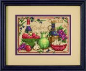 Dimensions Counted Cross Stitch Kit Mediterranean Flavours