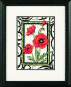 Dimensions Counted Cross Stitch Kit Blooming Poppies