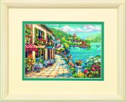 Dimensions Petite Counted Cross Stitch Kit Overlook Cafe