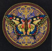 Dimensions Petite Counted Cross Stitch Kit Ornate Butterfly