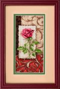Dimensions Petite Counted Cross Stitch Kit Single Rose