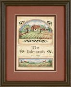 Dimensions Counted Cross Stitch Kit Tuscan Greeting