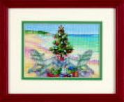 Dimensions Petite Counted Cross Stitch Kit Christmas on the Beach