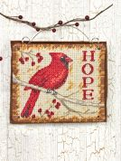 Dimensions Counted Cross Stitch Kit Ornament Hope